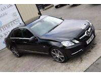 2011 MERCEDES-BENZ E CLASS E250 CDI 204BHP BLUEEFFICIENCY AVANTGARDE AUTO (FINANCE & WARRANTY)