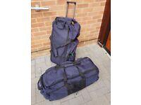 2 x wheeled trolley Holdall / Travel case