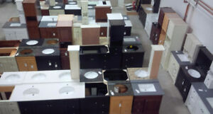 SOLID WOOD VANITY - CLEARANCE WAREHOUSE SALE - BATHROOM KITCHEN