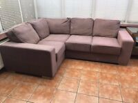 Corner Sofa - Great for conservatory or reception room