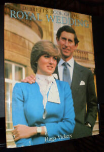 DeBrett's Book of the Royal Wedding (1st Edition) 1981 Diana
