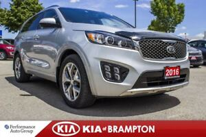 2016 Kia Sorento SX|NAVI|BACKUP CAM|ROOF|HTD SEATS|BLUETOOTH