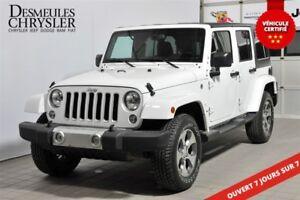 2016 Jeep WRANGLER UNLIMITED SAHARA**NAVIGATION**