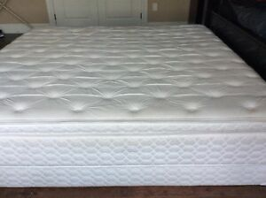 King Size Bed comes with Box Springs.
