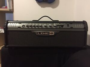 Electric guitar head line6 spider III hd 75