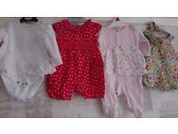 Baby girls clothes bundle newborn