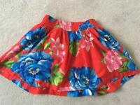 Hollister Skirt Size Small