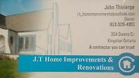 J.T HOME IMPROVEMENTS KINGSTON