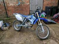 Wr450f with supermoto wheels