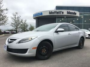 2012 Mazda MAZDA6 GS AUTO ON/OFF LIGHTS, BLUETOOTH, CRUISE, ALLO