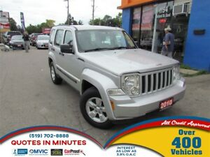 2010 Jeep Liberty SPORT | 4X4 | POWERFUL ENGINE | SPACIOUS INTER