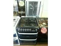 CANNON 60CM DUEL FUEL DOUBLE OVEN COOKER IN BLACK