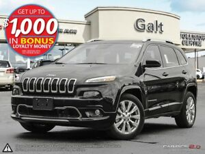 2016 Jeep Cherokee | OVERLAND | X COMPANY DEMO | LEATHER | SUNRO