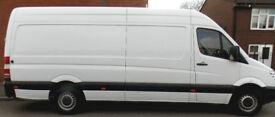Man And Big Sprinter Van Available