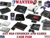 Old consoles and bits