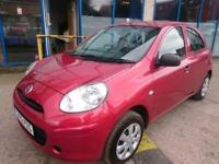 Nissan Micra 1.2 12v ( 79bhp ) Visia 5 DOOR - 2012 12-REG - 10 MONTHS MOT