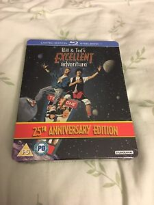 Bill and Ted's Excellent Adventure Blu-ray Steelbook New