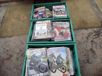Classic Bike and Classic Motorcycle magazine collection