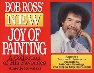 Bob Ross Discover The Joy Of Painting Book