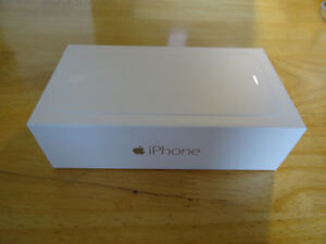 BRAND NEW IPHONE 6 PLUS 128GB UNLOCKED WITH 1 YEAR APPLE WARRANT