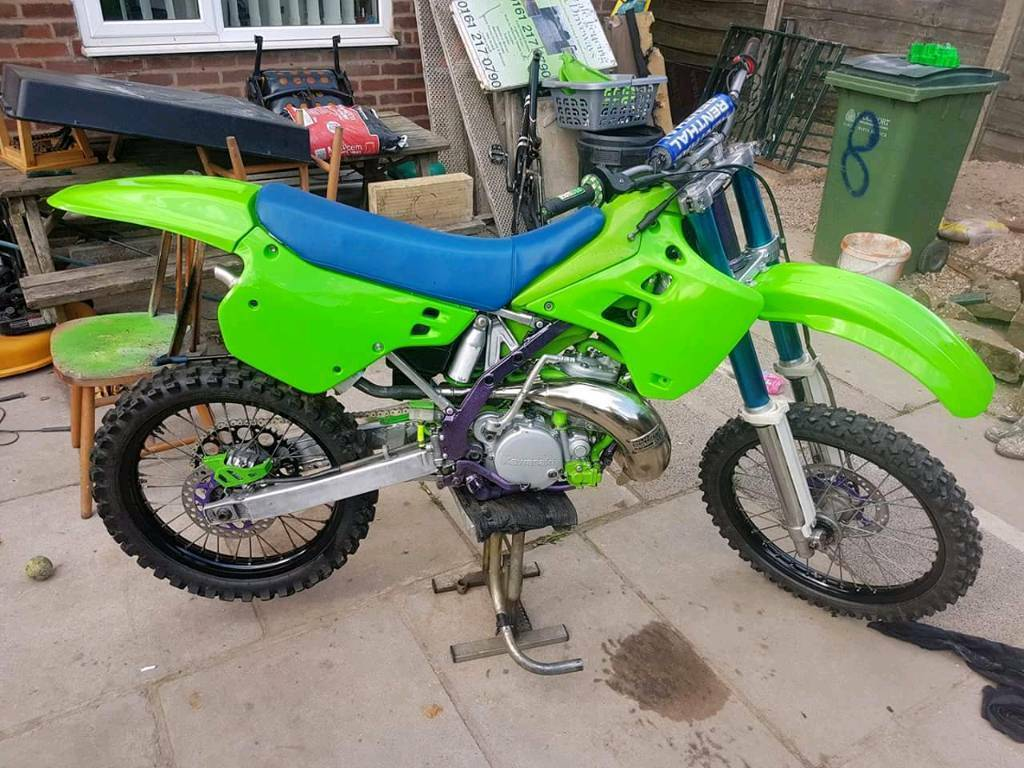 1991 kx 250 evo like new not even bin run in yet