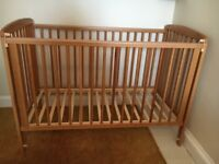 Lovely Solid Wood Baby Cot