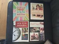 Sewing Books x 4