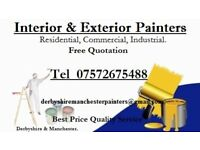 Interior & Exterior Painter's. Derbyshire and Manchester
