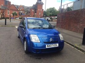 Citroen C2 for sale, 1.4i Design, Great condition, 65k miles, 57 plate, 2 lady owners, MOT until May