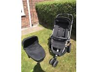 Quinny Buzz Pushchair + Carry Cot