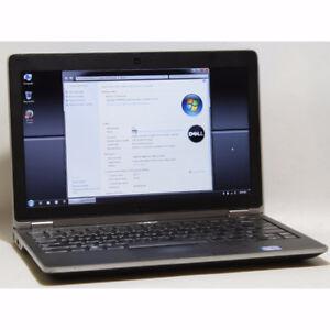 """Dell E6220 Laptop i5 Webcam 4GB RAM 320GB 12.5"""" HDMI Windows 7"""