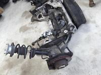 BMW e87 1 series complete front axel