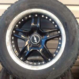 195/65r/15 American eagle racing after market rims with tires