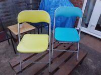 2x Garden seats