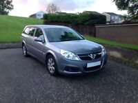 Vectra Diesel Estate low miles 1owner 1years MOT great big car no issues drive in comfort today vgc