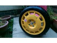 Emergency spare tyres reduced