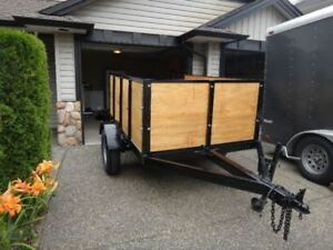 Like new trailer for sale