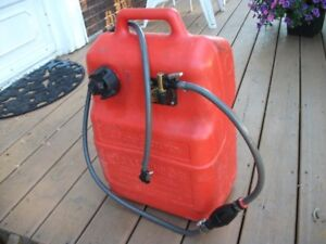 Gas Can with hose