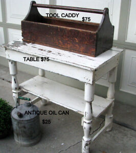 VARIOUS RUSTIC ITEMS FOR SALE