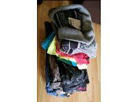 Men's clothing bundle - voi jeans, river island etc