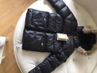 Black pyrenex coat brand new with tags age 8.£150
