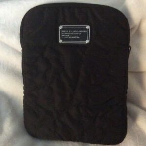 "Designer Tablet Cover- ""Marc Jacob"" Black Satin - Mint!!"