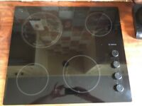 Bosch glass ceramic hob