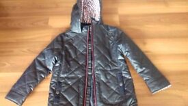 Boys quilted/waxed jacket