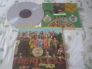 Colored Vinyl LP THE BEATLES LP Sgt. Pepper's L.H.C.B. Marble LP
