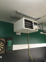 Garage Heater Installations!! Quality Work & Affordable!