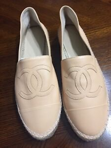 SOLD.       Authentic Chanel Espadrilles size 41 NEW