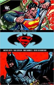 Superman Batman Finest Worlds Hardcover