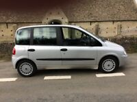 Fiat Multipla ride up front wheelchair adapted by Brotherwood