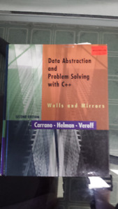 Data Abstraction and Problem Solving with C++